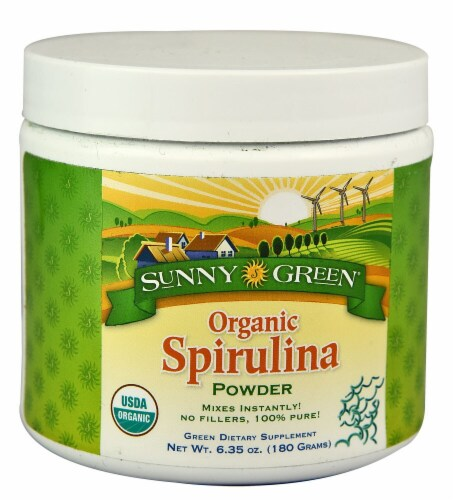 Sunny Green  Organic Spirulina Powder Perspective: front
