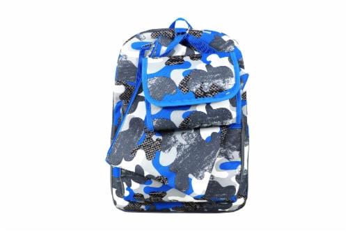 Cudlie Backpack Set - Camo Grunge Perspective: front