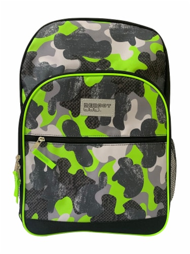 Cudlie Backpack - Green Camo Perspective: front