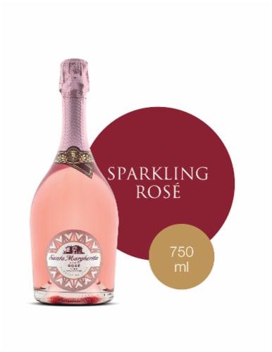 Santa Margherita Brut Rose Sparkling Wine Perspective: front