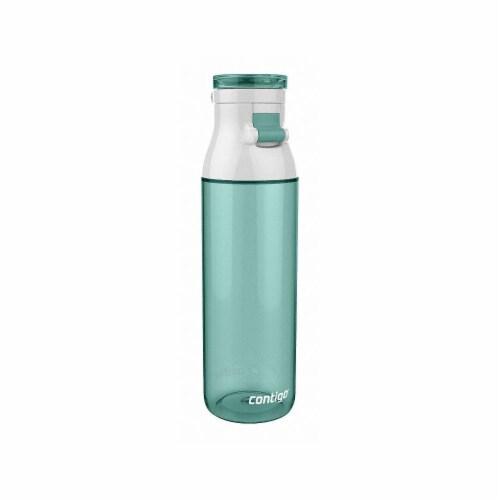 Contigo Water Bottle,24 oz., Flip top  JKG100A01 Perspective: front