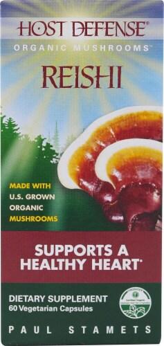 Fungi Perfecti  Host Defense® Mushrooms™ Organic Reishi Perspective: front