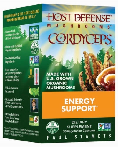 Host Defense Cordyceps Energy Support Perspective: front