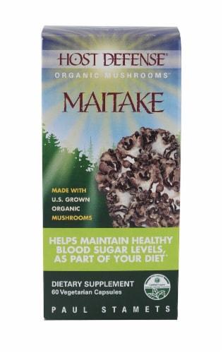 Fungi Perfecti  HostDefense® Organic Mushrooms™ Maitake Perspective: front