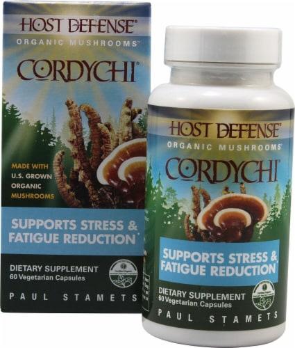 Fungi Perfecti  Host Defense CordyChi® Perspective: front