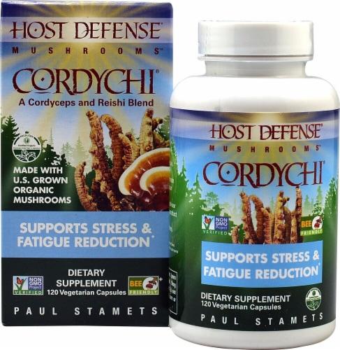 Fungi Perfecti  Host Defense Mushrooms Cordychi Perspective: front