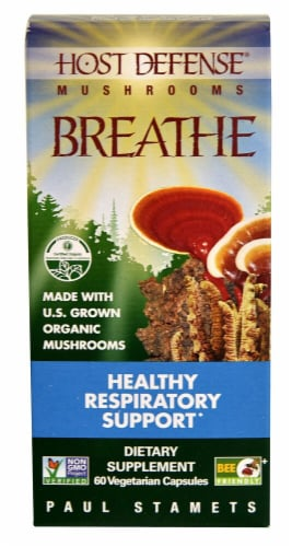 Fungi Perfecti  Host Defense® Breathe Perspective: front