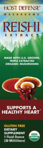 Host Defense Healthy Heart Reishi Extract Perspective: front