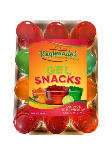 Raymundo's Regular Gel Snacks Variety Pack Perspective: front