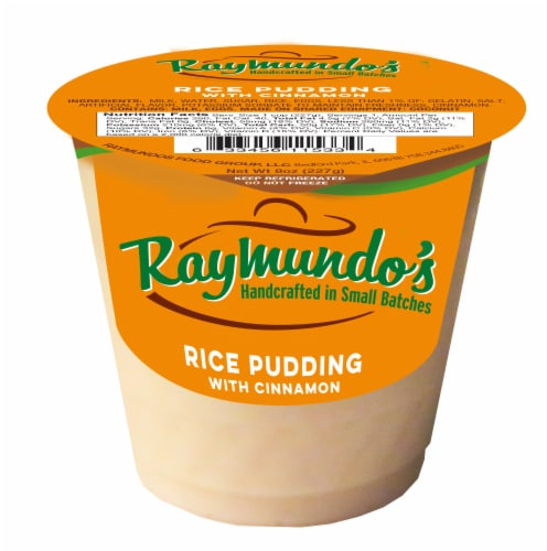 Raymundo's Cinnamon Rice Pudding Perspective: front