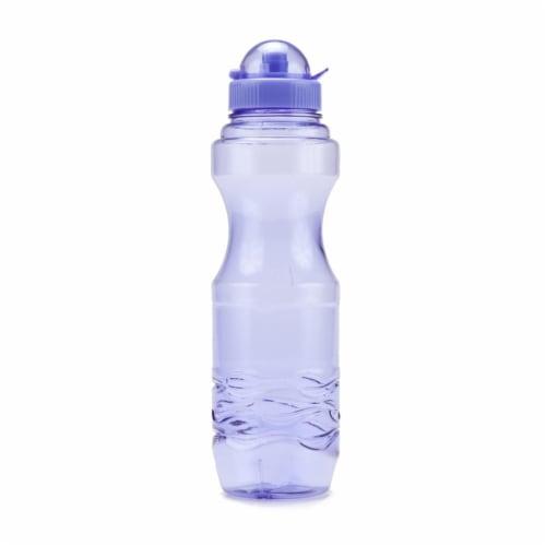 Bluewave Lifestyle PG06L-48-Purple 20 oz Bullet Sports Water Bottle, Iris Purple Perspective: front
