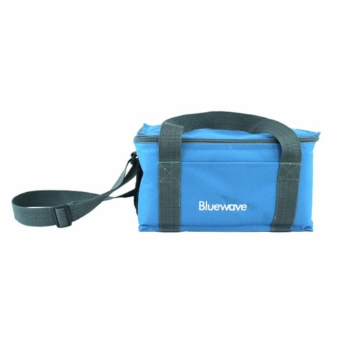 Bluewave Lifestyle Insulated Lunch Bag, Blue Perspective: front