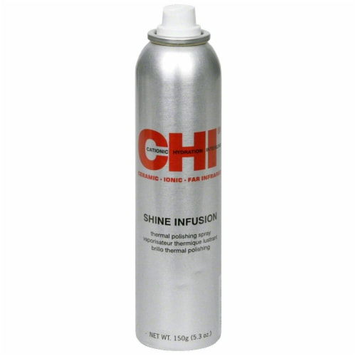 CHI Shine Infusion Thermal Hair Spray Perspective: front