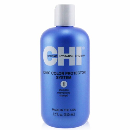 CHI Ionic Colour Protector System 1 Shampoo 355ml/12oz Perspective: front