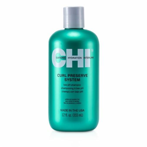 CHI Curl Preserve Shampoo 12 oz Perspective: front