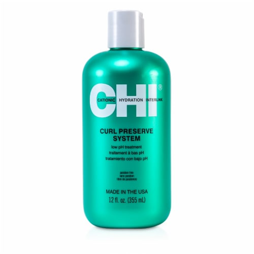 CHI Curl Preserve System Low PH Treatment 12 OZ Perspective: front