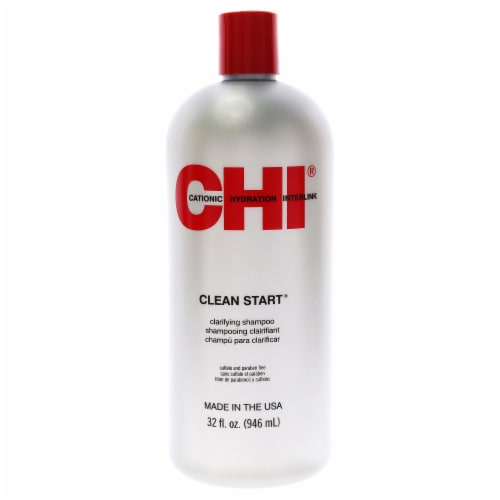 CHI Clean Start Clarifying Shampoo for Unisex - 32 oz Shampoo Perspective: front