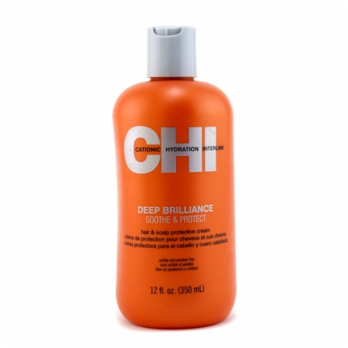 CHI Deep Brilliance Soothe Protect Cream 12 oz Perspective: front
