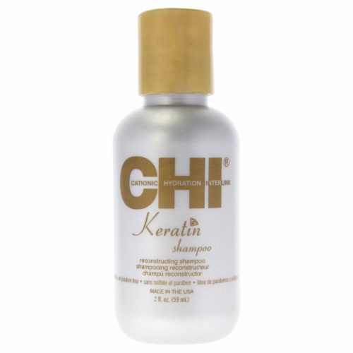 """""CHI Keratin Reconstructing Shampoo 2 oz"""" Perspective: front"