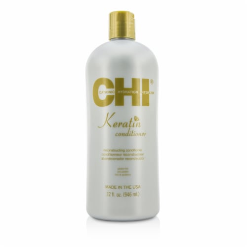 Keratin Reconstructing Conditioner by CHI for Unisex - 32 oz Conditioner Perspective: front