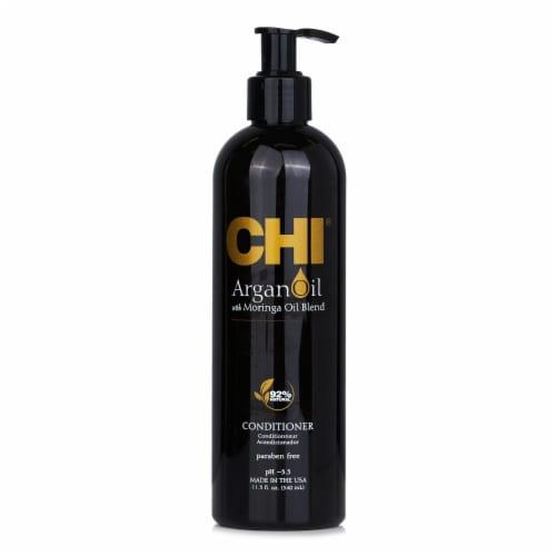 CHI Argan Oil Plus Moringa Oil Conditioner  Paraben Free 340ml/11.5oz Perspective: front