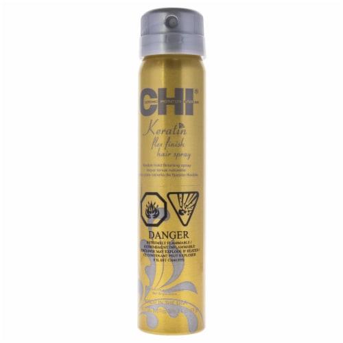 CHI Keratin Flex Finish Hairspray Hair Spray 2.6 oz Perspective: front