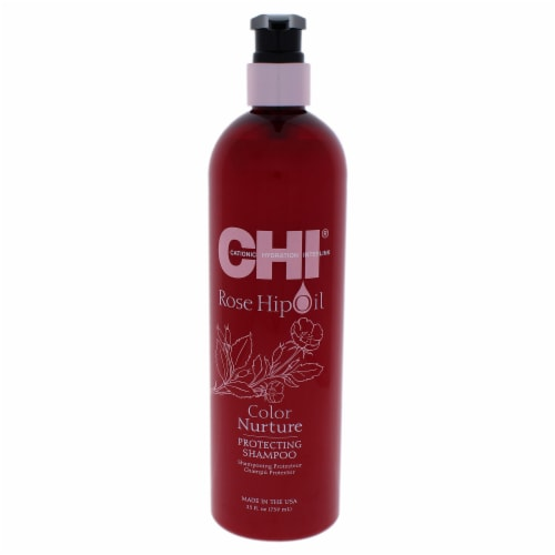 """""""""""CHI Rose Hip Oil Color Nurture Protecting Shampoo 739ml/25oz"""""""" Perspective: front"""