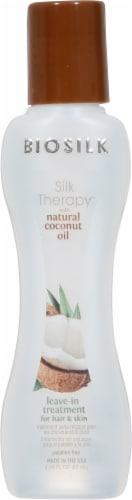Biosilk Silk Therapy Organic Coconut Oil Leave-In Treatment Perspective: front