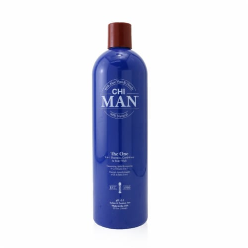 CHI Man The One 3in1 Shampoo, Conditioner & Body Wash 739ml/25oz Perspective: front