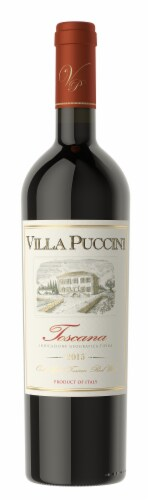 Villa Puccini Toscana Red Wine Perspective: front