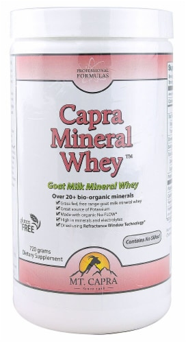 Mt. Capra Products  Professional Formulas Capra Mineral Whey™ Perspective: front