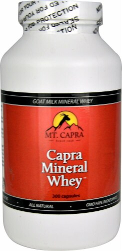 Mt. Capra Products  Capra Mineral Whey Perspective: front