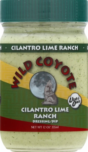 Wild Coyote Cilantro Lime Ranch Dressing Perspective: front