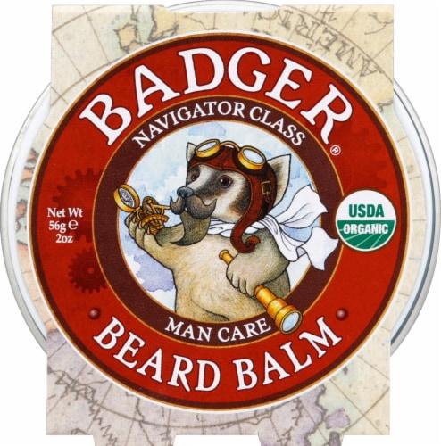 Badger Organic Beard Balm Perspective: front