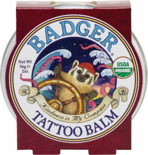 Badger  Tattoo Balm Perspective: front