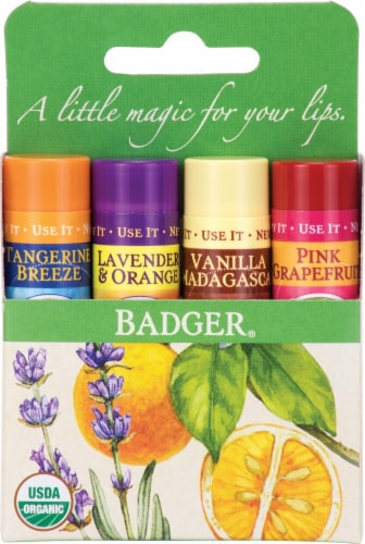 Badger  Lip Balm Perspective: front