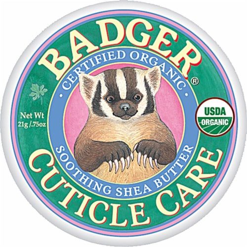 Badger  Organic Cuticle Care Soothing Shea Butter Perspective: front