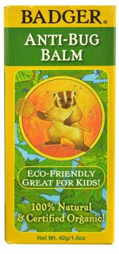 Badger  Organic Anti-Bug Balm Perspective: front