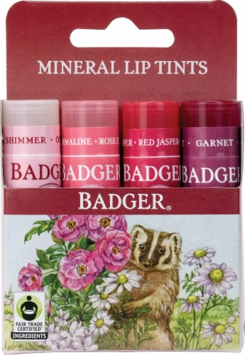 Badger  Mineral Lip Tints Perspective: front