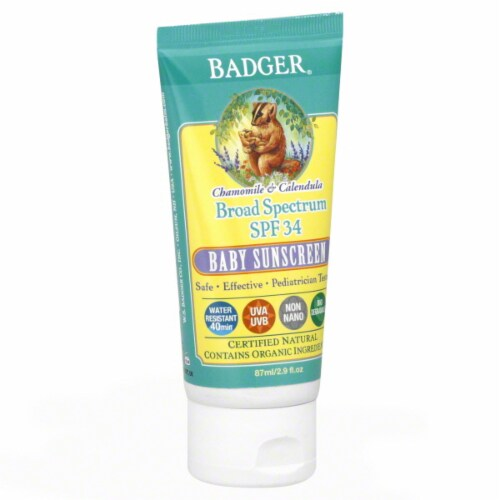 Badger Baby Sunscreen SPF 30 Perspective: front