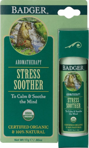 Badger  Aromatherapy Stress Soother Perspective: front