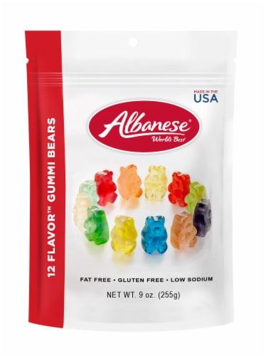 Albanese 12 Flavor Gummi Bears Perspective: front