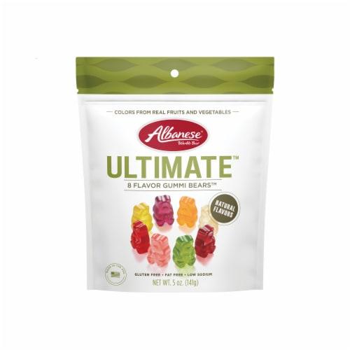 Albanese World's Best Ultimate 8 Flavor Gummi Bears Perspective: front