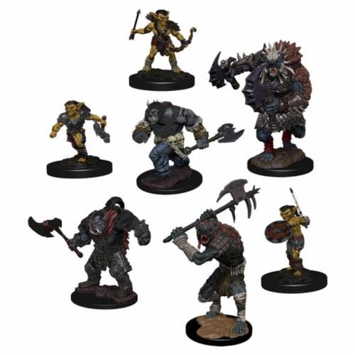 WizKids WZK72929 Dungeons & Dragons IR Monster & Village Raiders Game Pack Perspective: front