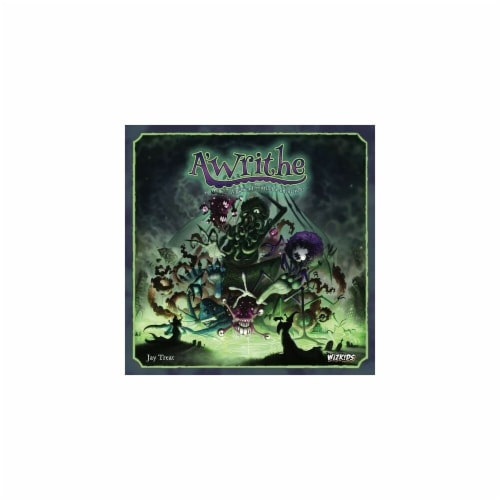 WizKids WZK73285 A Writhe - A Game of Eldritch Contortions Miniatures Pre-Painted Minis Wardl Perspective: front