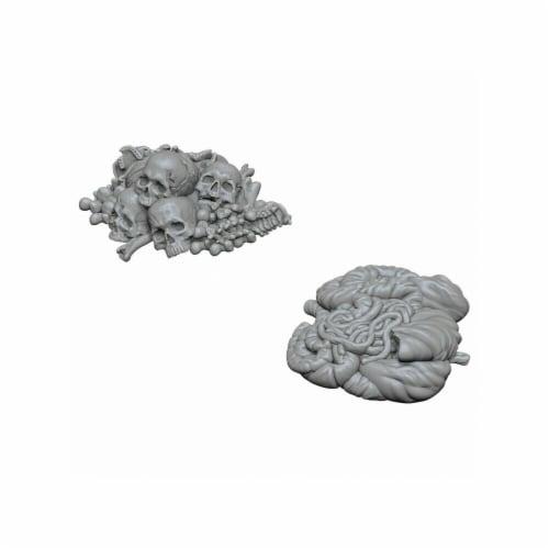 WizKids WZK73422 Pile of Bones & Entrails W6 WizKids Deep Cuts Miniatures Perspective: front