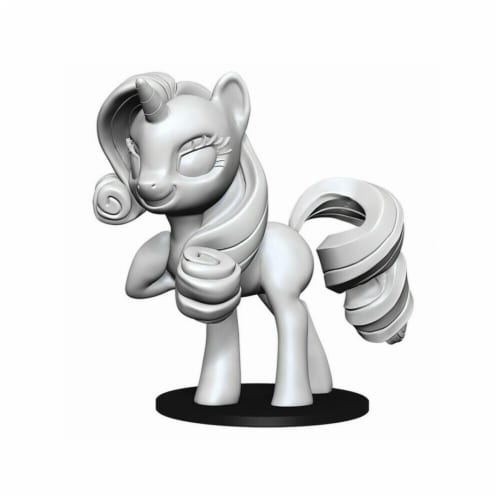 WizKids WZK73693 My Little Pony Deep Cuts-Rarity Miniature Perspective: front