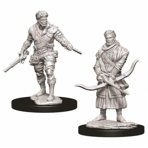 WizKids Dungeons & Dragons Nolzurs Marvelous Male Human Rogue W9 Miniature Perspective: front