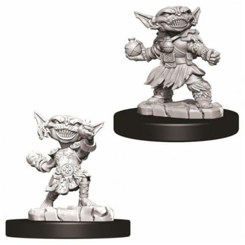 WizKids WZK73721 Pathfinder Battles Deep Cuts Female Goblin Alchemist W9 Miniature Perspective: front