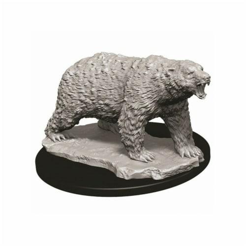 WizKids WZK73727 Deep Cuts Polar Bear W9 Miniature Perspective: front